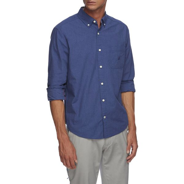 BLUE SAIL SOLID SHIRT, BLUE DEPTHS, hi-res