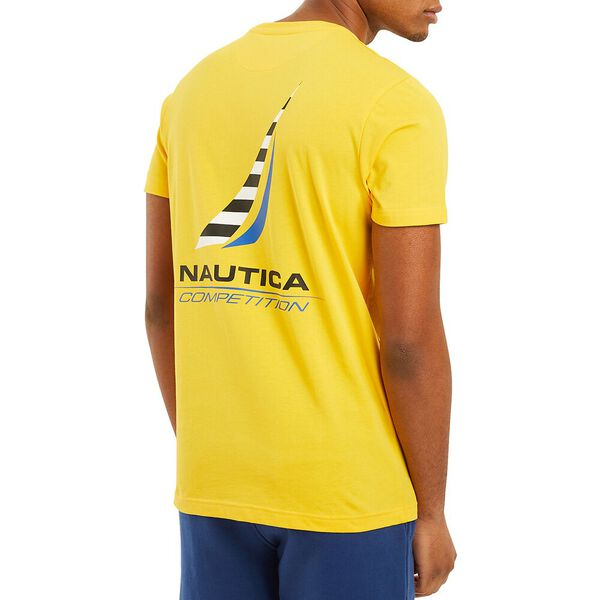 Nautica Competition Afore Tee, Blazing Yellow, hi-res