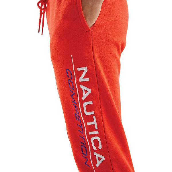 Nautica Competition Oceane Track Pants, Red, hi-res