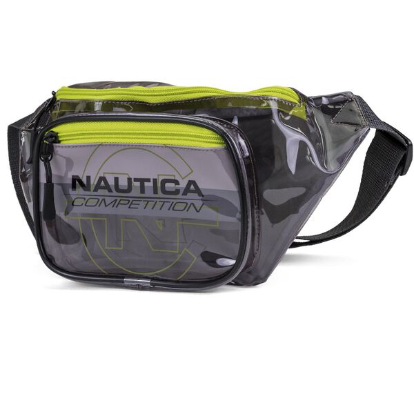 NAUTICA COMPETITION FESTIVAL BUM BAG, CLEAR GREY, hi-res