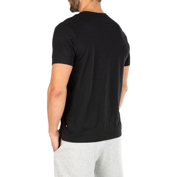 Sustainably Crafted J Class Varsity Tee, True Black, hi-res