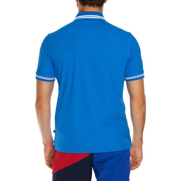 Navtech Colourblock Polo  Shirt, Spinner Blue, hi-res
