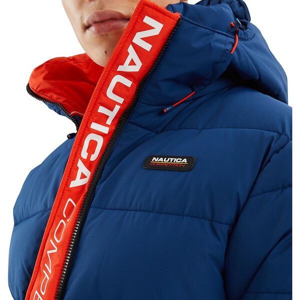 Nautica Competition Antigua Puffer Jacket, Navy, hi-res