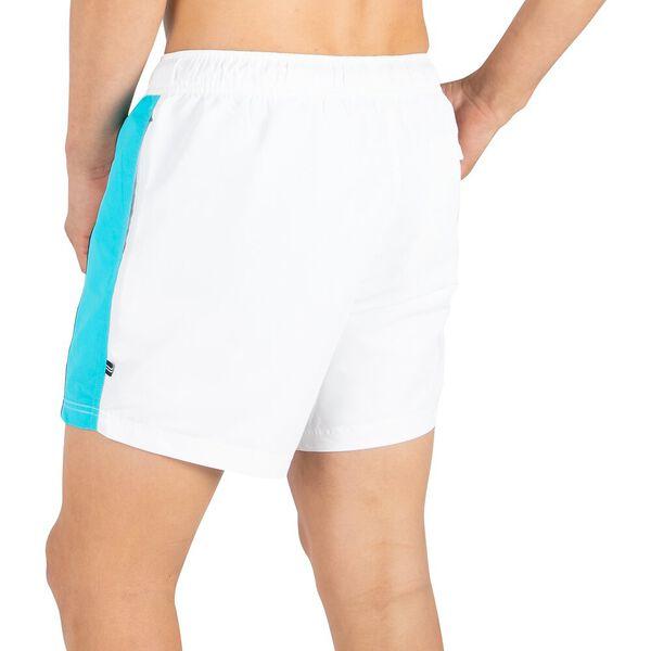 "Dual banded 6"" Swim Shorts, Bright White, hi-res"