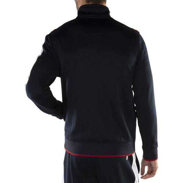 Logo Full Zip Track Sweater, Navy, hi-res