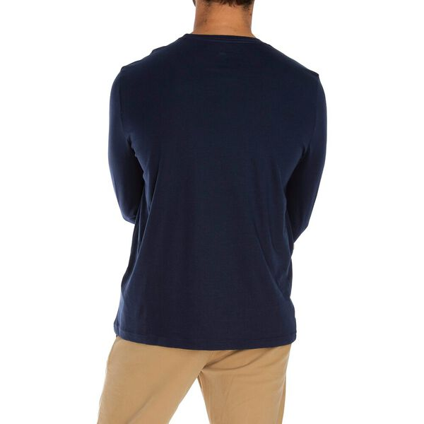The Staple Long Sleeve Tee, Navy, hi-res