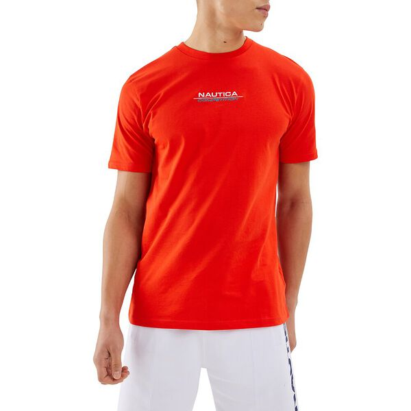 Nautica Competition Herman Tee, Red, hi-res