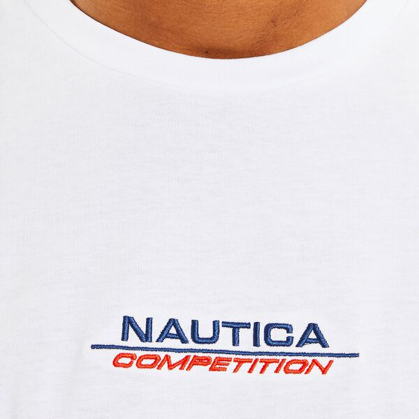 Nautica Competition Herman Tee, Bright White, hi-res