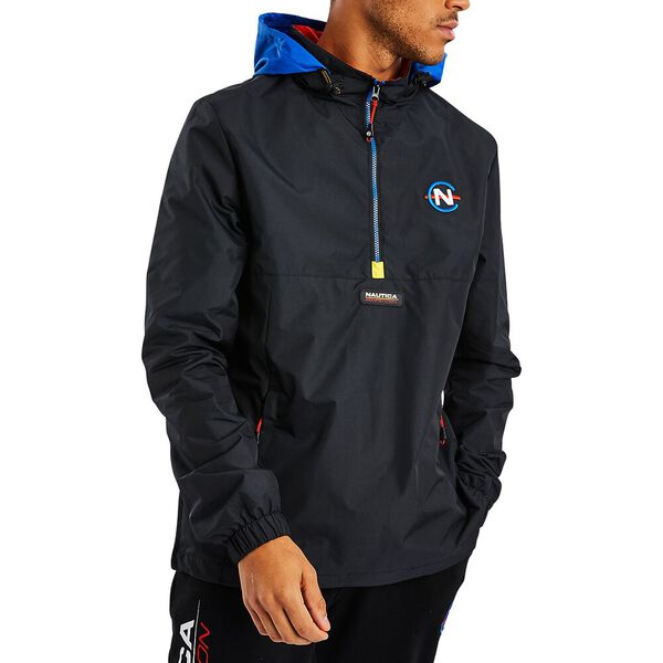 NAUTICA COMPETITION SALVOR 1/2 ZIP WINDBREAKER