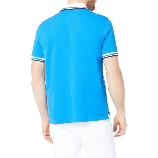 Solid Logo Polo Shirt, Spinner Blue, hi-res