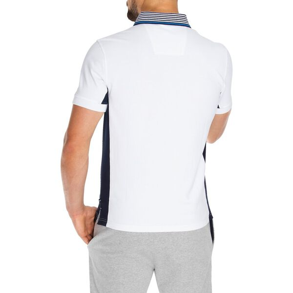 Slim Fit N83 Sailing Team Polo, Bright White, hi-res