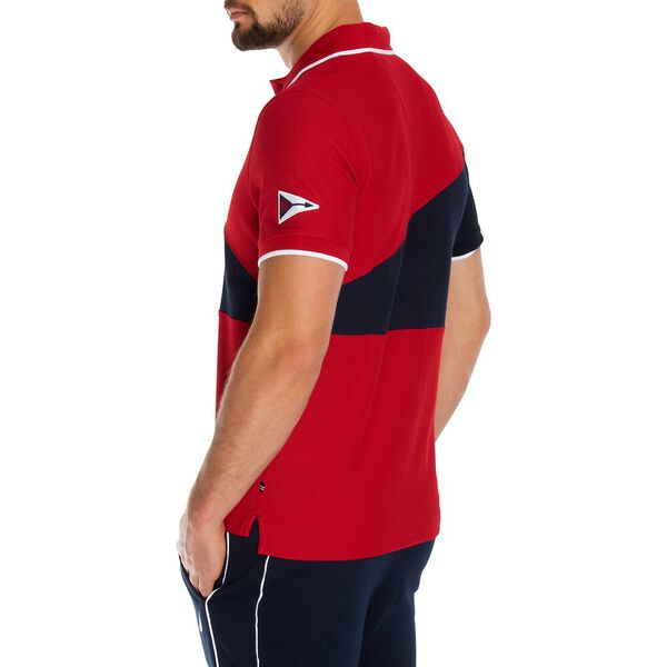 SPLICE IT UP POLO, NAUTICA RED, hi-res