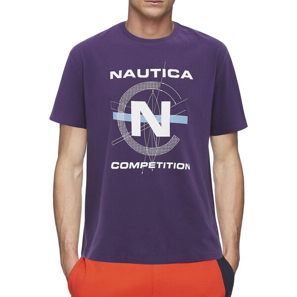 NAUTICA COMPETITION FOOTACTION COMPASS GRAPHIC TEE