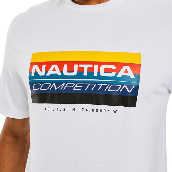 Nautica Competition Astern Tee, Bright White, hi-res