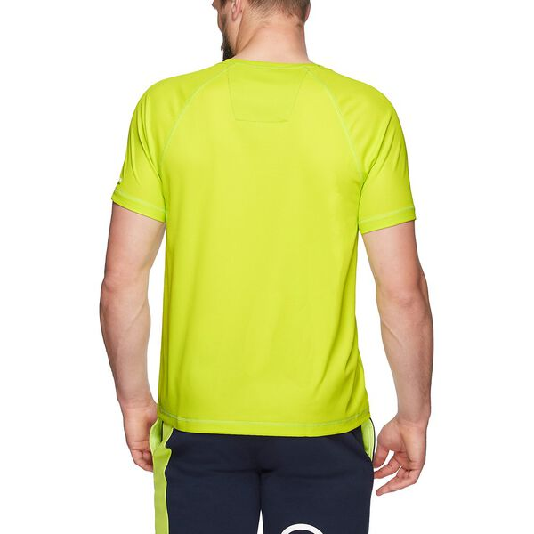 Nautica Competition Cooling Short Sleeve Tee, Tropic Lime, hi-res