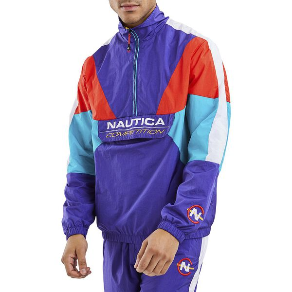 Nautica Competition Whipstaff Shell Suit 1/2 Zip Windbreaker