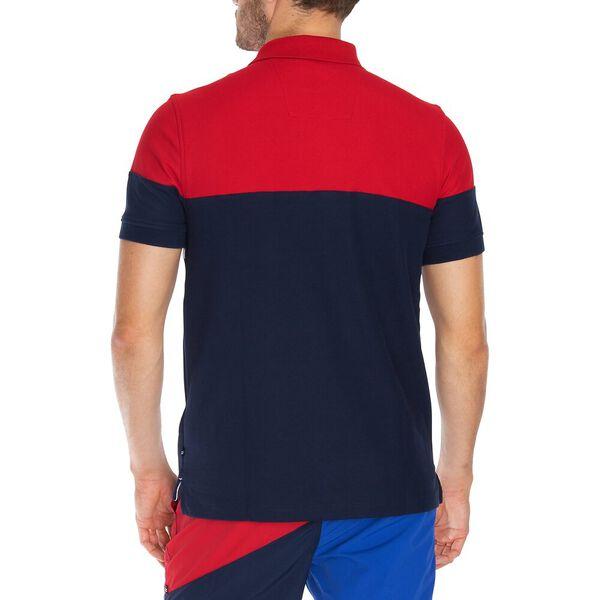 The Classic Colourblock Polo, Navy, hi-res