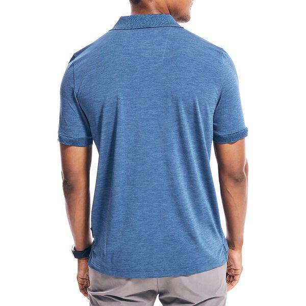 Performance Deck Polo Shirt, Blue Heather, hi-res
