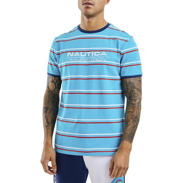 Nautica Competition Columbus Tee, Blue, hi-res