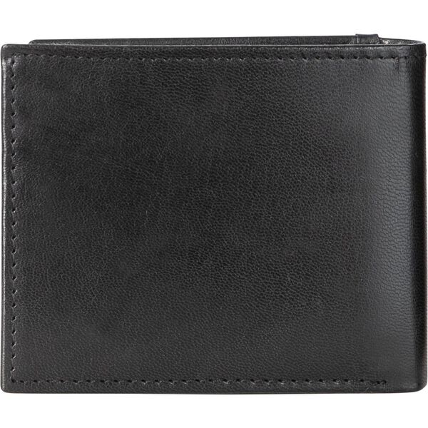 Leather Lohan Wallet, Black, hi-res