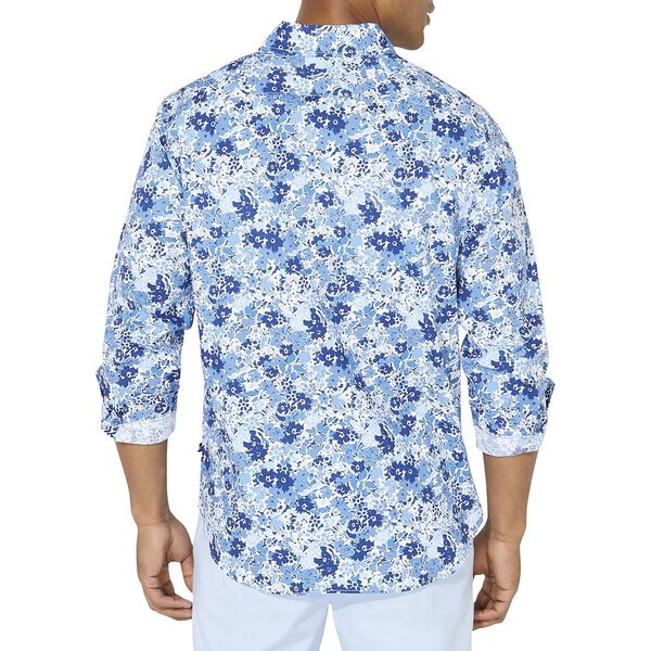 Classic Fit Floral Long Sleeve Shirt, Limoges, hi-res