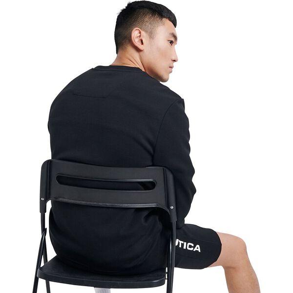 Nautica Competition Ionian Sweatshirt, Black, hi-res