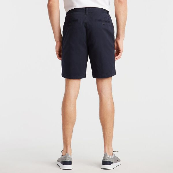 """18.5"""" Classic Fit Deck Shorts With Stretch Navy, True Navy, hi-res"""