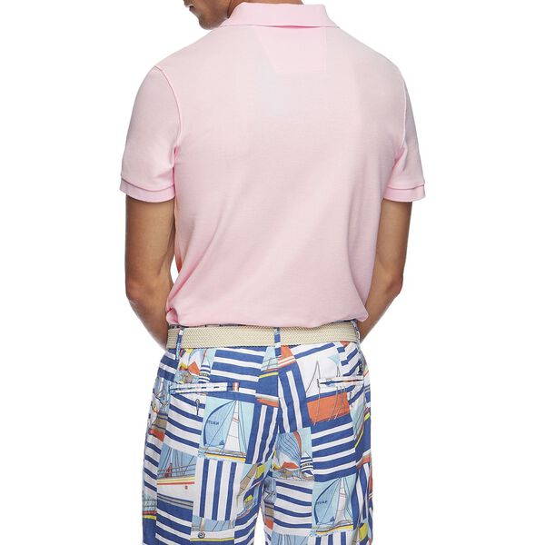 SOLID FCA SLIM FIT POLO, CRADLE PINK, hi-res