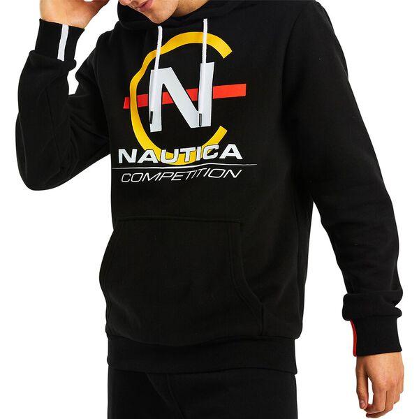 Nautica Competition Teir Hoodie, True Black, hi-res