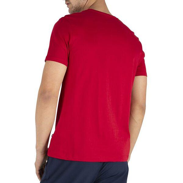 Outline Logo Tee, Nautica Red, hi-res