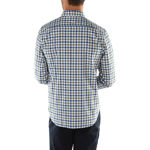 Classic Fit The Casual Plaid Shirt, Olivine, hi-res