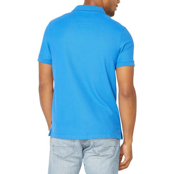 Slim Fit Performance Deck Polo, Spinner Blue, hi-res