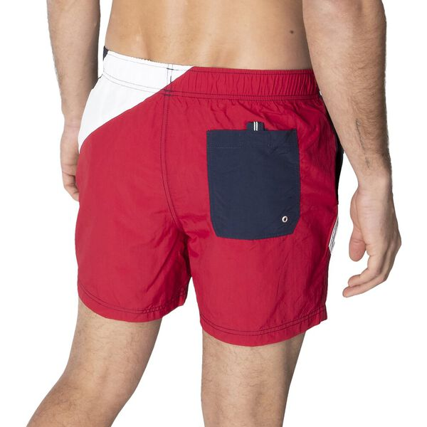 See The Flags Elasticated Waist Swim Shorts, Navy, hi-res