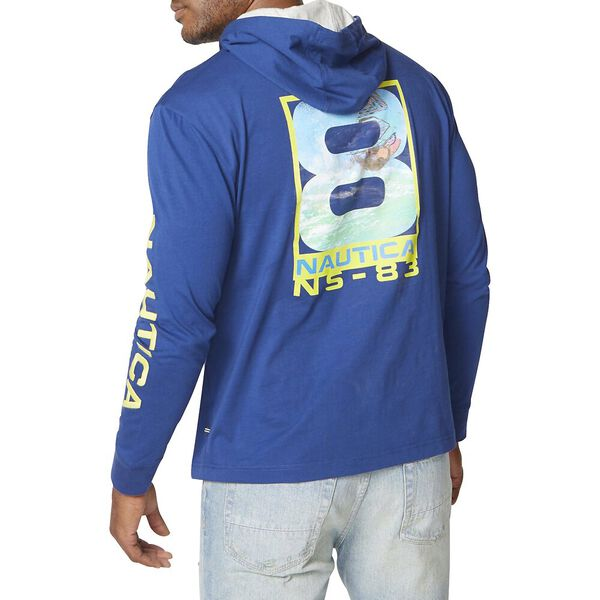 Vintage Ns-83 Pullover T-Shirt Hoodie, Estate Blue, hi-res