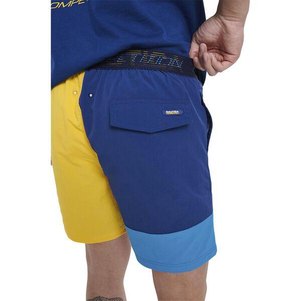 Nautica Competition Mansezza Swim Shorts, Navy, hi-res