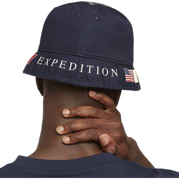 Vintage Collection Arctic Bucket Hat, Navy, hi-res