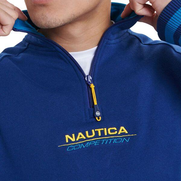 Nautica Competition Plimpton Quarter Zip Fleece, Navy, hi-res
