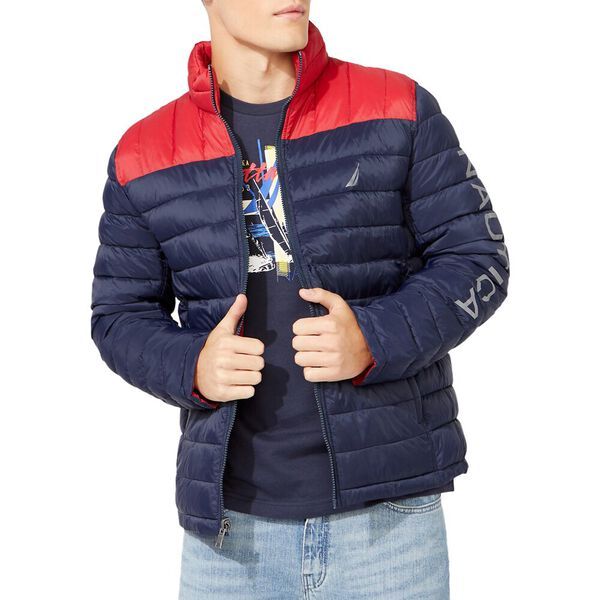 Tempasphere Reversible Lightweight Jacket, Navy, hi-res