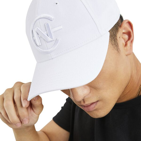 Nautica Competition Globe Snapback Cap, White, hi-res