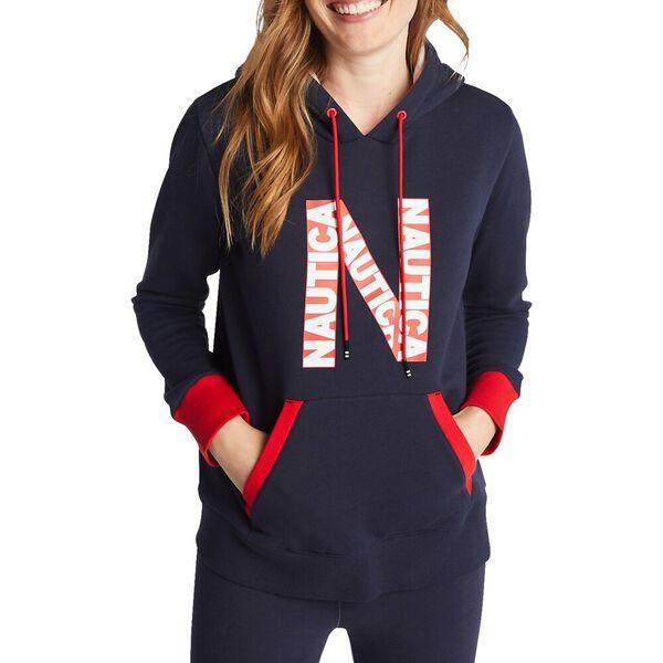 N-Logo Pullover Hoodie
