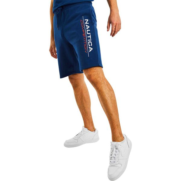 Nautica Competition Dodger Track Short, Navy, hi-res