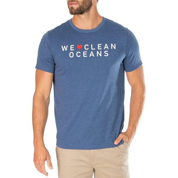 We Love The Ocean Tee, Night Sky Heather, hi-res