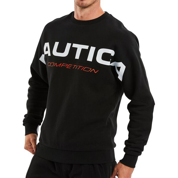 Nautica Competition Kelson Sweater, True Black, hi-res