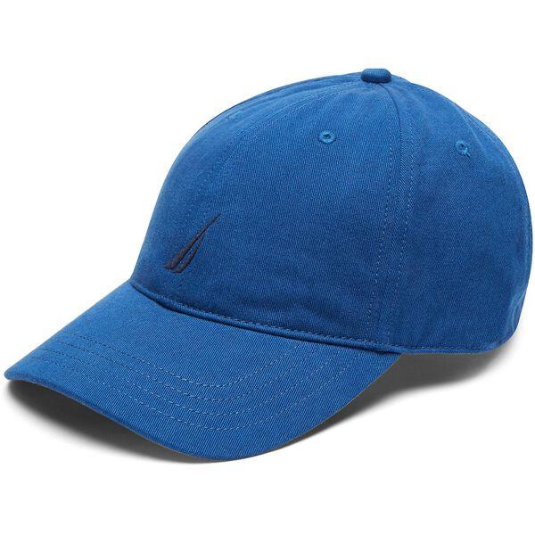 FCA J CLASS 6 PANEL BASEBALL CAP, ESTATE BLUE, hi-res