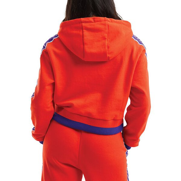 Nautica Competition Idler Crop Oth Hoodie, Red, hi-res