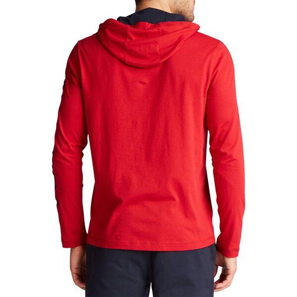 Solid Logo Hoodie, Nautica Red, hi-res