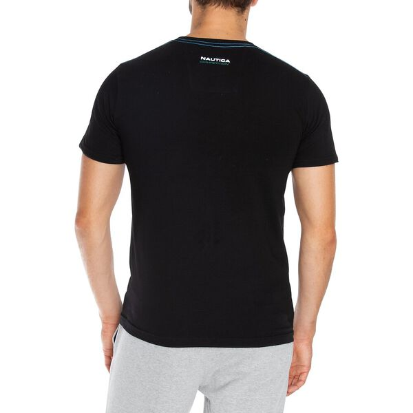 Nautica Competition Logo Graphic Tee, True Black, hi-res