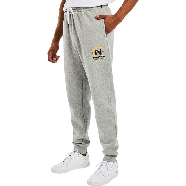 Nautica Competition Timber Jogger Pant, Grey Heather, hi-res