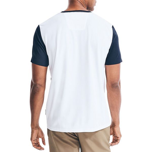 Sustainably Crafted Sash Tee, Bright White, hi-res