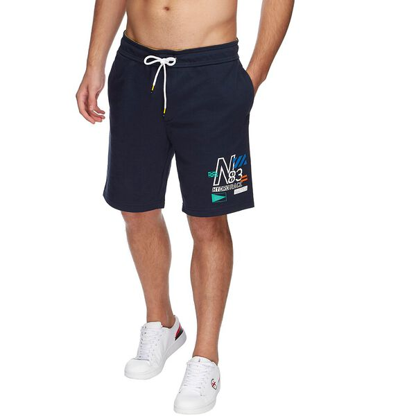 BLUE SAIL HYDRO RACE LOGO BLOCK TRACK SHORTS